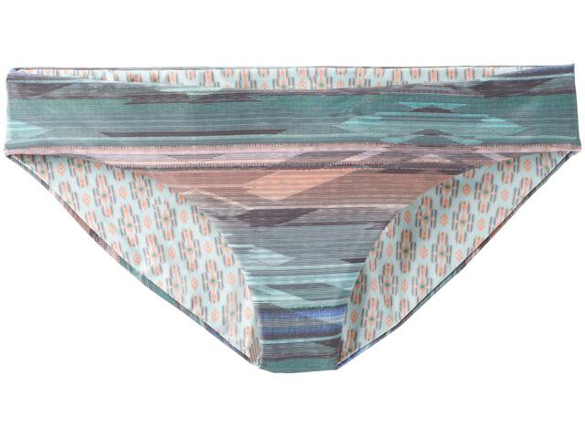 Prana Breya Parte inferior bikini Mujer, azul/rosa
